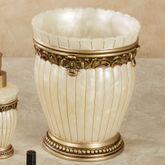 Roma Wastebasket Ivory