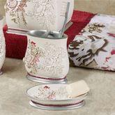 Secret Garden Soap Dish Ivory