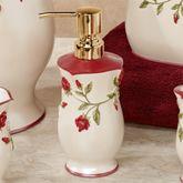 Vining Rose Lotion Soap Dispenser Pearl