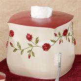 Vining Rose Tissue Cover Pearl