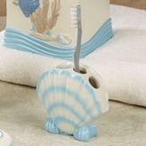 Beach Walk Toothbrush Holder Light Cream