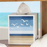 Seagulls Tissue Cover Ivory