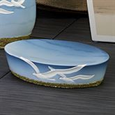 Seagulls Soap Dish Ivory