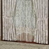 Bellamy Tailored Curtain Pair Silver Gray