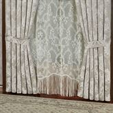 Bellamy Tailored Curtain Pair Silver Gray