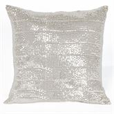 Radiance Sequin Tailored Pillow Champagne 18 Square