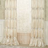 Radiance Tailored Curtain Pair Champagne 72 x 84