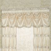 Radiance Tuck Valance Champagne 90 x 20