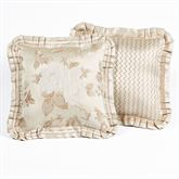 Laurette Flanged Pillow Sand 16 Square