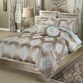 Athena Comforter Set Light Taupe