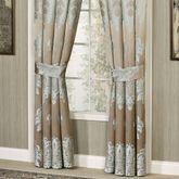 Athena Tailored Curtain Pair Light Taupe