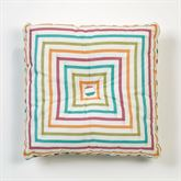 Cote d Azur Tufted Pillow Light Cream 18 Square