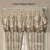 Grandeur Tuck Valance Golden Beige 90 x 20