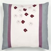 Harmony Embroidered Sham Orchid European