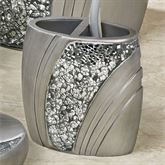Brilliance Toothbrush Holder Silver Gray