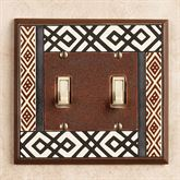 Tribal Double Switch Brown