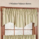Kimberly Stripe Windsor Valance 70 x 17