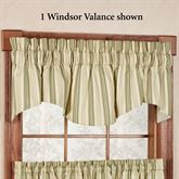 Kimberly Stripe Windsor Valance 70 x 17