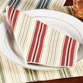 Kimberly Stripe Napkin Set Set of Four