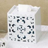 Belle Tissue Cover White