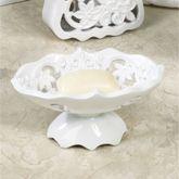 Belle Soap Dish White