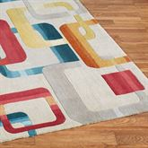Retro Modo Rug Runner Multi Jewel 23 x 76