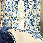 Spring Flowers Tailored Curtain Pair Light Cream 84 x 84
