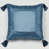 Cambridge Classics Tasseled Piped Pillow 18 Square