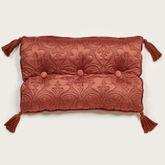 Cambridge Classics Tasseled Tufted Pillow Rectangle