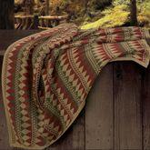 Wilderness Ridge Throw Blanket Cypress 50 x 60