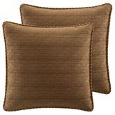 Bali Palm Piped European Sham Beige