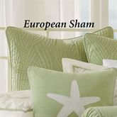 Brisbane Quilted European Sham Celadon
