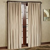 Fontaine Back Tab Wide Width Curtain Pair