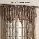Ocelot Ascot Valance