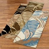 Rainforest Rug Runner  23 x 8