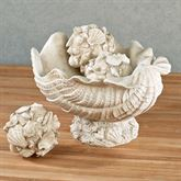 Shell Centerpiece Bowl Antique Ivory