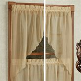 Emelia Sheer Swag Valance Pair 60 x 38