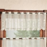 Samantha Scalloped Valance 59 x 13