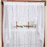 Mystic Sheer Swag Valance Pair 60 x 38
