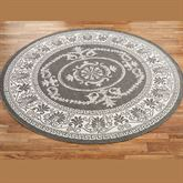 Antique Medallion Round Rug 76 Round