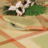 Pineapple Jacquard Napkin Set Yellow Set of Four