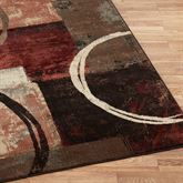 Arcade Rug Runner Brown 110 x 76
