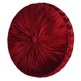 Roma Tufted Pillow Red Round