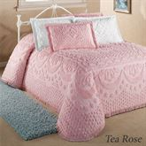 Cotton Bedspread with Chenille Tufts