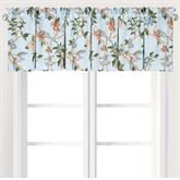 Marianne Tailored Valance Pastel Blue 72 x 15.5