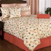 Caicos Comforter Set Light Cream