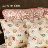 Caicos Piped Sham Light Cream European