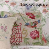 Marinella Hooked Pillow Ecru 16 Square