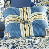 Imperial Dress Piped Pillow Porcelain 18 Square