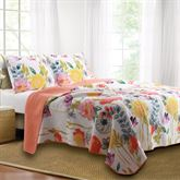 Watercolor Dream Quilt Set Multi Cool